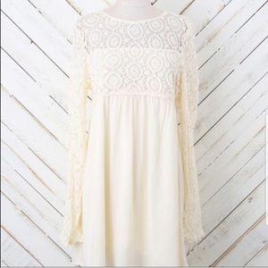 Altar'd State Crochet Babydoll Dress